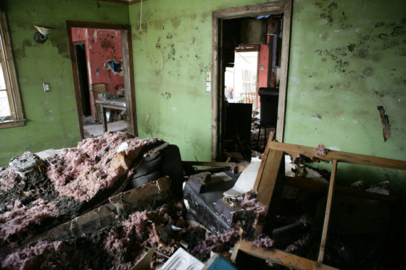 Living Room after storm